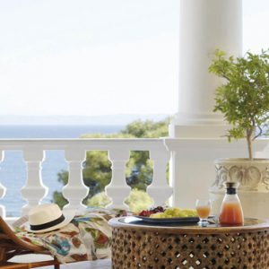 Greece Honeymoon Packages Danai Beach Resort And Villas Breakfast With A View