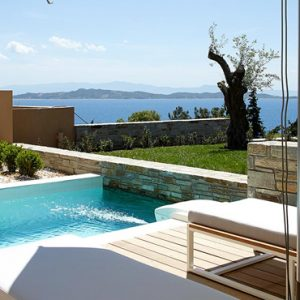 Greece Honeymoon Packages Eagles Villas Greece Junior Pool Villa With Private Garden