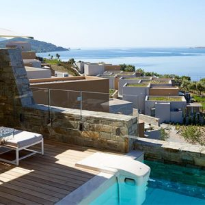 Greece Honeymoon Packages Eagles Villas Greece Ocean One Bedroom Pool Villa 6