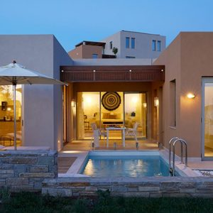 Greece Honeymoon Packages Eagles Villas Greece Ocean One Bedroom Pool Villa With Private Garden