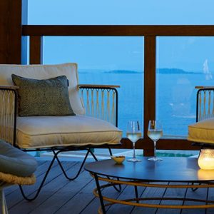 Greece Honeymoon Packages Eagles Villas Greece Dining