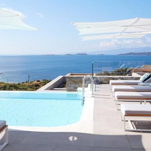 Greece Honeymoon Packages Eagles Villas Greece Pool