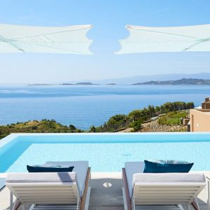 Greece Honeymoon Packages Eagles Villas Greece Pool 3