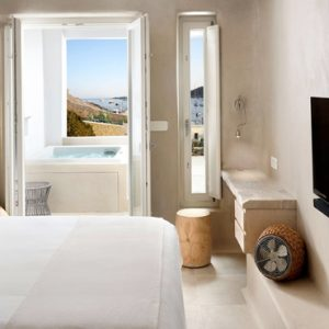 Greece Honeymoon Packages Kensho Ornos Deluxe Room With Outdoor Hot Tub1