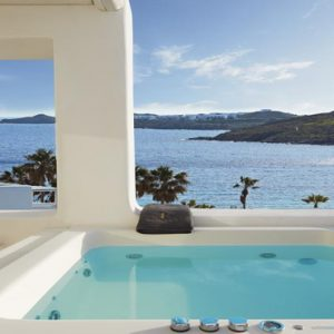 Greece Honeymoon Packages Kensho Ornos Jacuzzi With A View