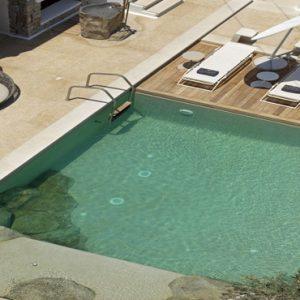 Greece Honeymoon Packages Kensho Ornos Pool Aerial View