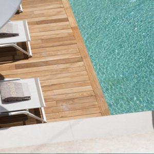 Greece Honeymoon Packages Kensho Ornos Pool Sun Loungers