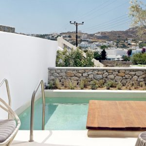 Greece Honeymoon Packages Kensho Ornos VIP Junior Suite With Private Pool2