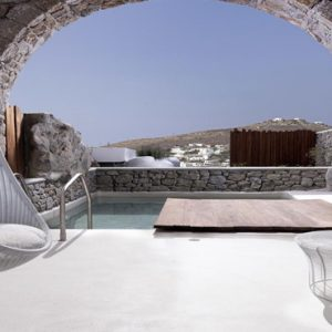 Greece Honeymoon Packages Kensho Ornos Villa With Pool1