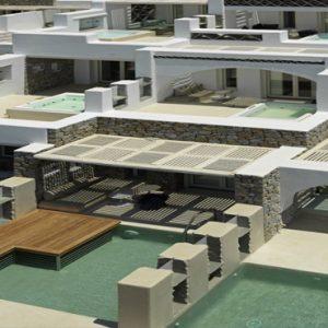 Greece Honeymoon Packages Kensho Ornos Villas Exterior