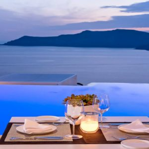 Greece Honeymoon Packages Kirini Santorini Anthos Restaurant Fine Dining