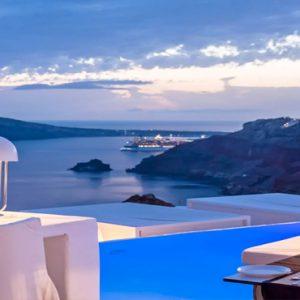 Greece Honeymoon Packages Kirini Santorini Anthos Restaurant Views