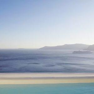 Greece Honeymoon Packages Kirini Santorini Honeymoon Suites With Open Air Jetted Tub2
