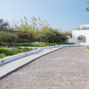 Greece Honeymoon Packages Kirini Santorini Hotel Entrance