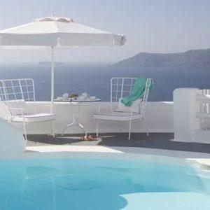 Greece Honeymoon Packages Kirini Santorini Master Suite With Private Pool 3