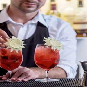 Greece Honeymoon Packages Kirini Santorini Pool Bar Cocktails