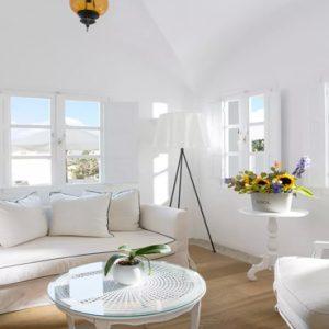 Greece Honeymoon Packages Kirini Santorini Relaxing Area