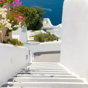 Greece Honeymoon Packages Kirini Santorini Stairway