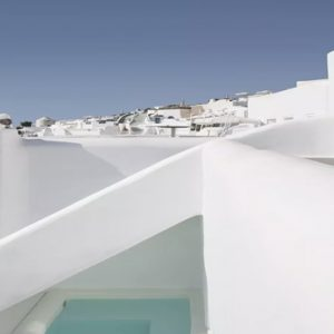 Greece Honeymoon Packages Kirini Santorini Wet Junior Suites With Open Air Jetted Tub2