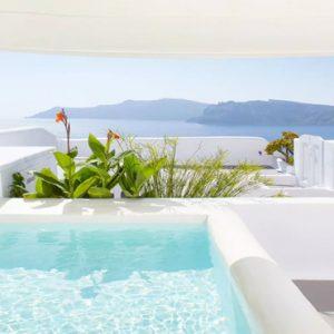 Greece Honeymoon Packages Kirini Santorini Pool And Stunning Views