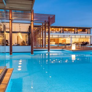 Greece Honeymoon Packages Stella Island Crete Cabana Pool Bar1