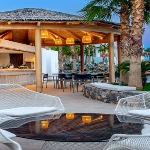 Greece Honeymoon Packages Stella Island Crete Cabana Pool Bar5