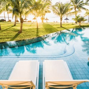 Mauritius Honeymoon Packages Victoria Beachcomber Resort And Spa Victoria For Two Swim Up Pool Sun Loungers