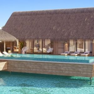 Maldives Honeymoon Packages Waldorf Astoria Maldives Ithaafushi Three Bedroom Overwater Villa With Pool