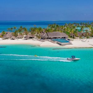 Maldives Honeymoon Packages Fushifaru Aerial View