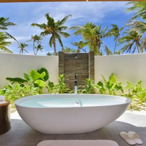 Maldives Honeymoon Packages Fushifaru Beach Villa Sunset3