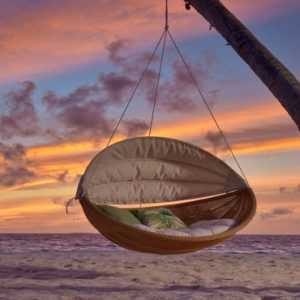 Maldives Honeymoon Packages Fushifaru Hammock On Island