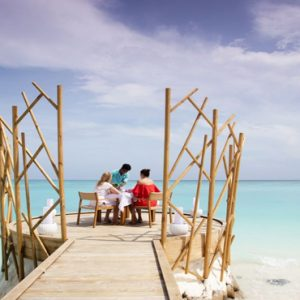 Maldives Honeymoon Packages Fushifaru Handhu Dining Platform1