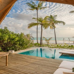 Maldives Honeymoon Packages Fushifaru Pool Beach Villa Sunrise