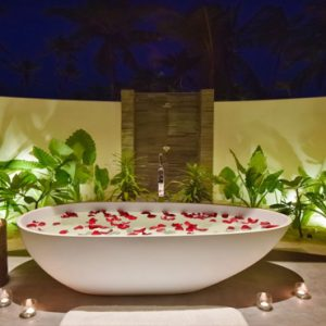 Maldives Honeymoon Packages Fushifaru Pool Beach Villa Sunset2