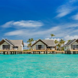 Maldives Honeymoon Packages Fushifaru Watervilla Exterior By Day