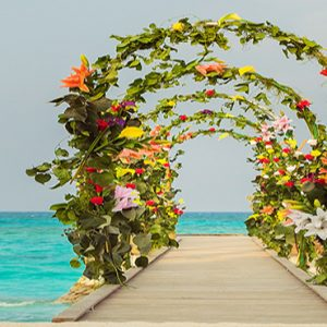 Maldives Honeymoon Packages Fushifaru Wedding Setup