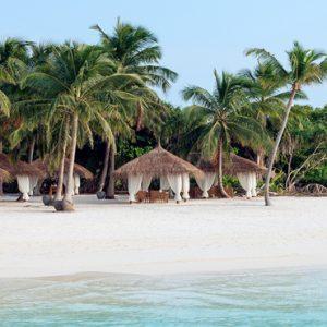 Maldives Honeymoon Packages Reethi Faru Resort Beach Dining Cabanas