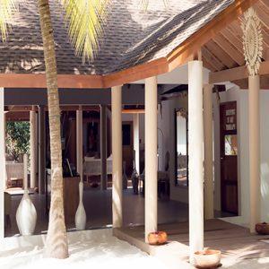 Maldives Honeymoon Packages Reethi Faru Resort Coconut Spa Entrance