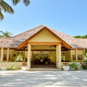 Maldives Honeymoon Packages Reethi Faru Resort Hotel Entrance