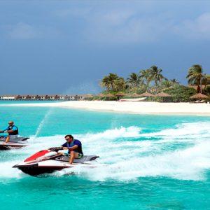 Maldives Honeymoon Packages Reethi Faru Resort Jetskiing