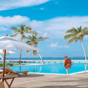 Maldives Honeymoon Packages Reethi Faru Resort Pool Views