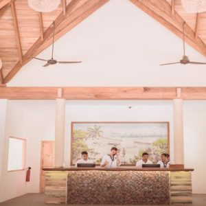 Maldives Honeymoon Packages Reethi Faru Resort Reception