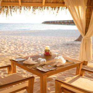 Maldives Honeymoon Packages Reethi Faru Resort Romantic Dining On Beach1