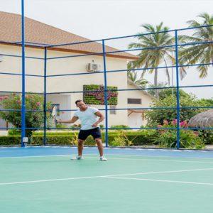 Maldives Honeymoon Packages Reethi Faru Resort Tennis