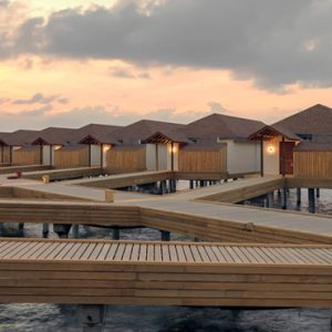 Maldives Honeymoon Packages Reethi Faru Resort Water Villa Pathway