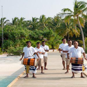 Maldives Honeymoon Packages Reethi Faru Resort Welcome Arrival