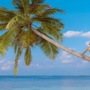 Maldives Honeymoon Packages Reethi Faru Resort Women At Beach