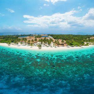 Maldives Honeymoon Packages Reethi Faru Resort Aerial View