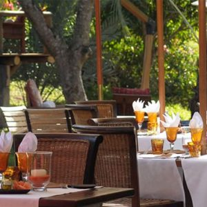 Mauritius Honeymoon Packages Lakaz Charmarel Lodge Mauritius Dining 4