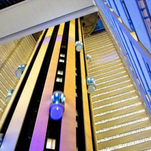 New York Honeymoon Packages New York Marriott Marquis Elevators